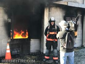 Stephon Dingle (WLKY) reporting on life as a firefighter